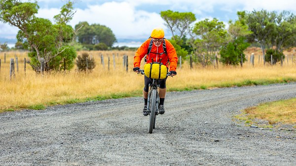 20210206 Fred Hutchings outside  Featherston on Aotearoa Cycle Challenge -_JM_9567