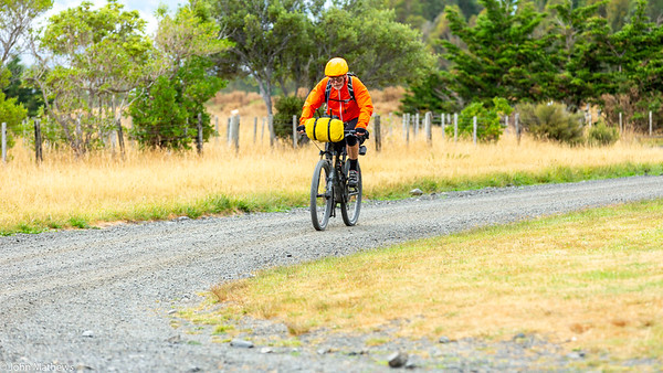 20210206 Fred Hutchings outside  Featherston on Aotearoa Cycle Challenge -_JM_9562