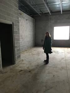 Sarah Marhevsky explores a classroom