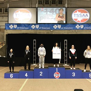 Iliana - Medal Stand - 4th Place