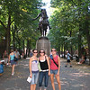 This photo was taken on a family vacation to Boston, MA.  My 3 daughters with the statue of Paul Revere in the background.<br /> <br />  <br /> <br /> Paula Popp<br /> <br /> Geistown