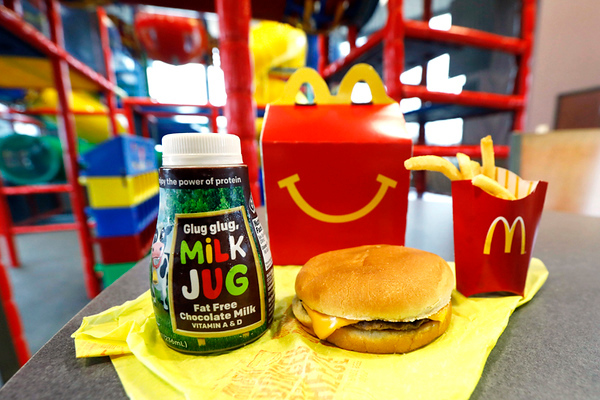 APTOPIX McDonalds Happy Meal Changes