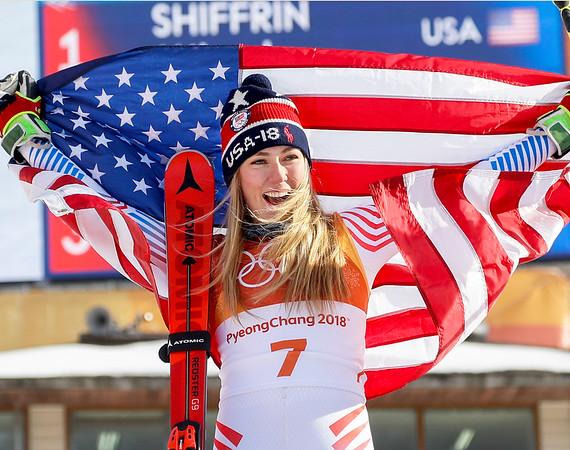 APTOPIX Pyeongchang Olympics Alpine Skiing