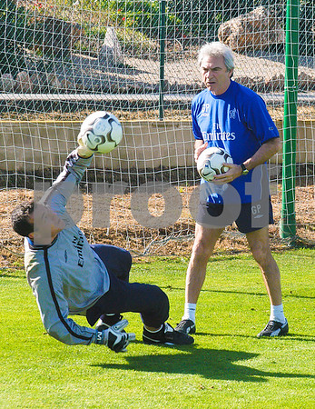 Chelsea Football Club training at La Manga Club, 26th February 2004
