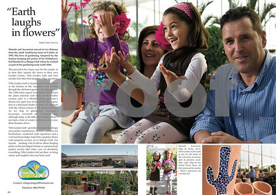 La Manga Illustrated Villa Garden Golf feature, 2011