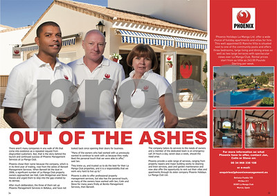 La Manga Illustrated Phoenix Management feature, 2011