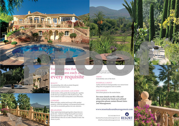 Resort Management Villa Feature, Pages 40 & 41