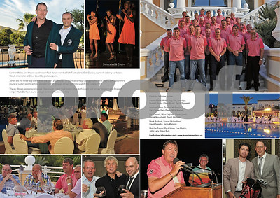 Footballer's Golf Classic Feature, Pages 86 & 87