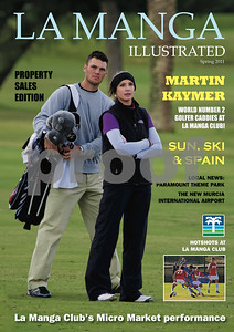 La Manga Illustrated Front Cover, Spring 2011