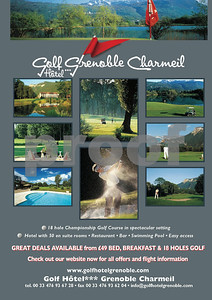 Golf Hotel Grenoble Charmeil Ad La Manga Illustrated, 2011