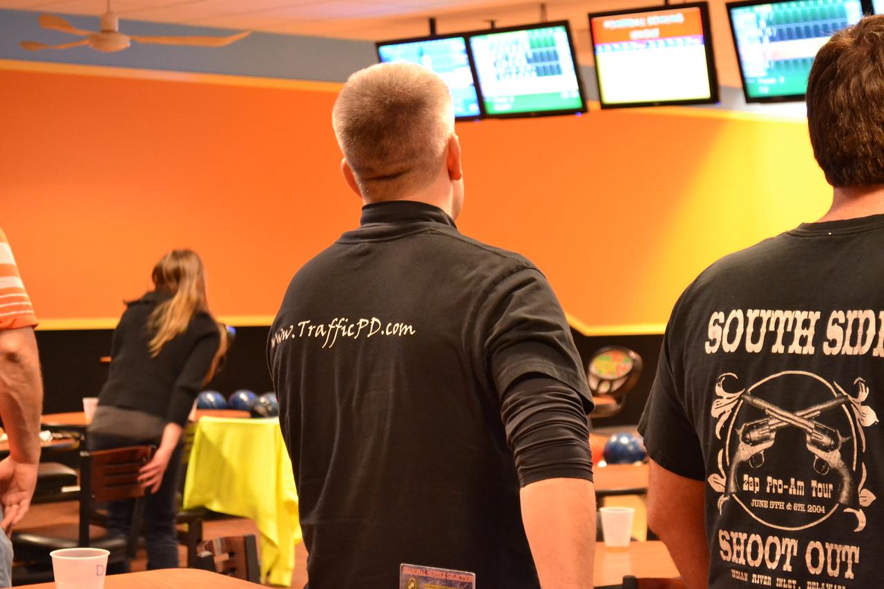 February 2014: Bowling Team Building