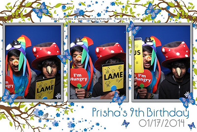 Prisha's 9th Birthday