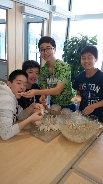 Dumpling Making!