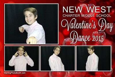 New West Charter Middle School Valentine's Day Dance