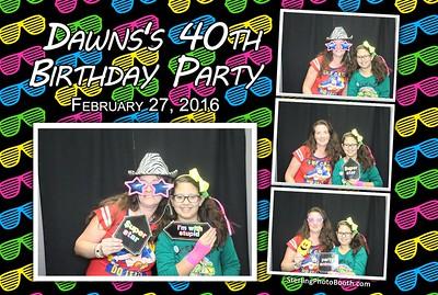 Dawn's 40th Birthday Party