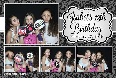Isabel's 13th Birthday