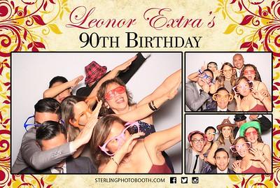 Leonor Extra's 90th Birthday
