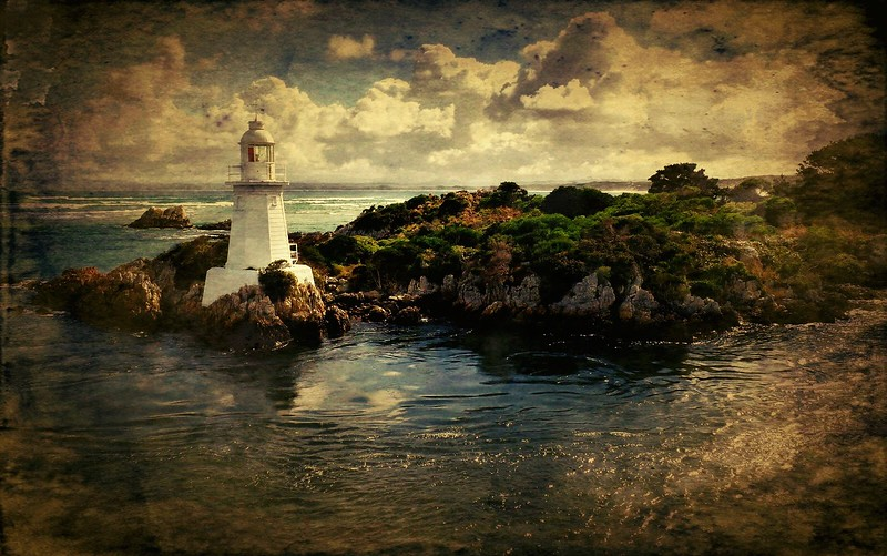 Lighthouse Textured Image  - Frank.