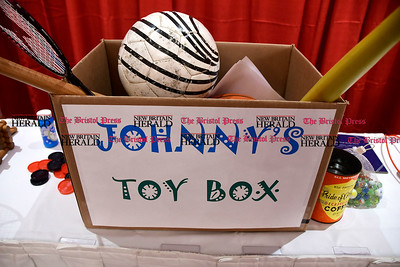 2/1/2017 Mike Orazzi | Staff Johnny's Toy Box during the Southington-Cheshire Community YMCA's 88th Annual Meeting held at the Aqua Turf Club Wednesday evening.