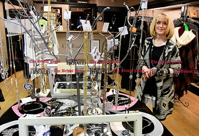 2/1/2017 Mike Orazzi | Staff Dottie Perry at Très Chic Boutique in Southington.