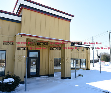 021417  Wesley Bunnell | Staff  Chick-fil-a will be opening a new location in the site of a former Ruby Tuesday's at 3240 Berlin Turnpike in Newington.