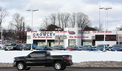 021617  Wesley Bunnell | Staff  Area auto dealerships are preparing for the upcoming President's Day Sales including Crowley Ford in Plainville.