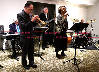 2/25/2017 Mike Orazzi   Staff Members of the Ethel Lee Ensemble during the 2nd Annual Connie Wilson Collins Memorial Scholarship Fund Gala held at the Crystal Ballroom in New Britain Saturday night.