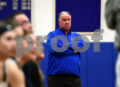 2/28/2017 Mike Orazzi | Staff St. Paul's Joe Mone during Tuesday night's Class M First Round State Girls Basketball Tournament with Griswold in Bristol.