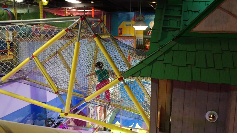 At the Funplex in Houston