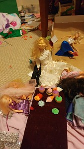 Barbie and Ken's wedding got wayyyy out of control
