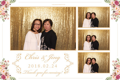 Chris & Jing's  Wedding