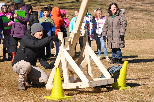 Third Graders Use a Catapult to Learn About Projectile Motion