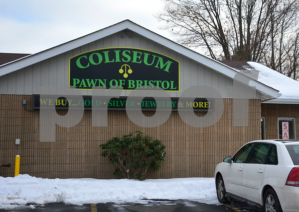 2/9/2016 Mike Orazzi | Staff Coliseum Pawn in Bristol.