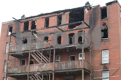 02/09/18  Wesley Bunnell | Staff  Fire early Friday heavily damaged the recently condemned 408 Arch St and businesses still operating in the building.