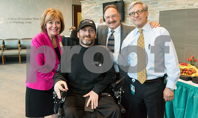 02/27/18  Wesley Bunnell | Staff  The Charles H. Kaman Foundation Neuromuscular Center at Hospital for Special Care celebrated its 10th anniversary on Monday night.  The center provides comprehensive care to more than 250 patients with ALS and 1,200 adult and pediatric patients with muscular dystrophy and other neuromuscular disorders and Parkinson's disease. President and CEO of HSC Lynn Ricci, FACHE, longtime patient Brian Savo, Andy Savo and Dr. John Votto, D.O.