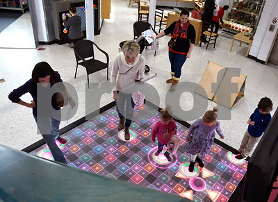 2/10/2018 Mike Orazzi | Staff The Imagine Nation, A Museum Early Learning Center's Happy Hearts Scavenger Hunt Saturday morning in Bristol. :