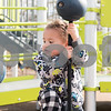 02/21/18  Wesley Bunnell | Staff<br /> <br /> Jaxsen, age 2, plays in a warm Walnut Hill Park playground on Wednesday morning during a visit by the New Britain YMCA Childcare Academy at 111 Hart St.