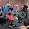 02/21/18  Wesley Bunnell | Staff<br /> <br /> A band plays live music for seniors at the New Britain Senior Center on Wednesday afternoon. Shown is Joe Donato on guitar.