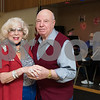 02/21/18  Wesley Bunnell | Staff<br /> <br /> Peg Mottola, L, and Evo Rondini dance to live music at the New Britain Senior Center on Wednesday afternoon.