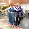 02/21/18  Wesley Bunnell | Staff<br /> <br /> Elsie Scempinski and Bob Snediker dance to a live band at the New Britain Senior Center on Wednesday afternoon.