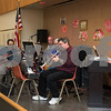 02/21/18  Wesley Bunnell | Staff<br /> <br /> A band plays live music for seniors at the New Britain Senior Center on Wednesday afternoon.