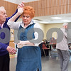 02/21/18  Wesley Bunnell | Staff<br /> <br /> Bob Snediker and Elsie Scempinski dance to a live band at the New Britain Senior Center on Wednesday afternoon.