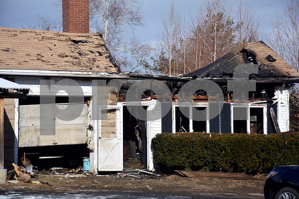 2/2/2018 Mike Orazzi | Staff An overnight fire tore through the old Bristol Nursery building in the early morning hours, leaving much of the structure without a roof.