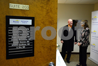 2/8/2018 Mike Orazzi | Staff Bristol Hospital  multi-specialty group's new Southington office at 98 Main Street Thursday evening.
