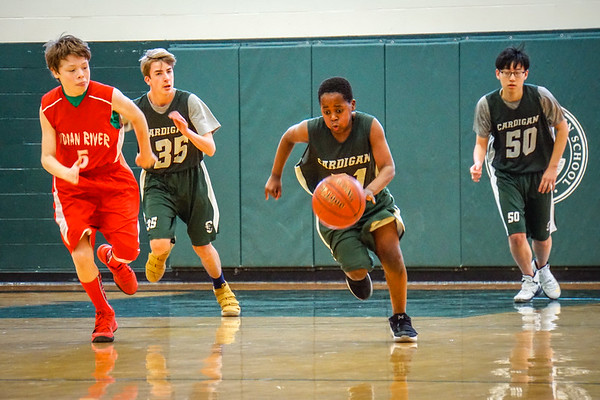 Thirds Basketball vs. Indian River School