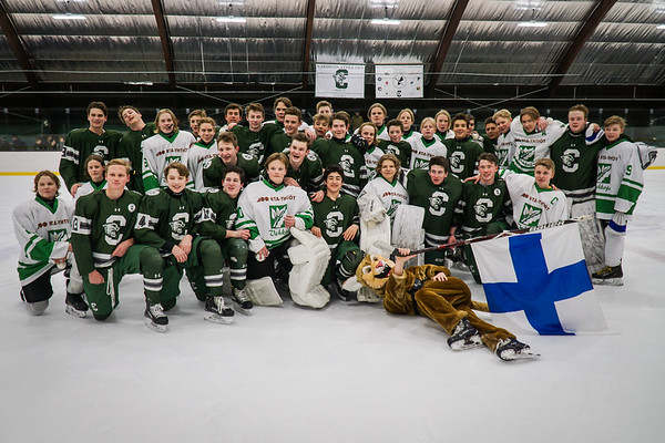 Varsity Hockey vs. Vehkoja School 🇫🇮