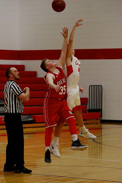 WHS BOYS BASKETBALL vs Rose Hill  021318