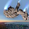"""Comet 67P/Churyumov-Gerasimenko Compared to Townsville."""
