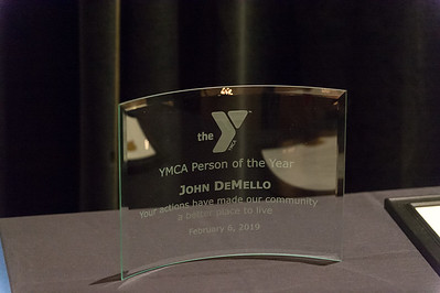 02/06/19  Wesley Bunnell | Staff  The Southington YMCA held their 90th Annual Celebration and Recognition dinner at the Aqua Turf Club on Wednesday evening. The Person of the Year Award to John DeMello.