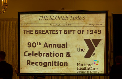02/06/19  Wesley Bunnell | Staff  The Southington YMCA held their 90th Annual Celebration and Recognition dinner at the Aqua Turf Club on Wednesday evening.